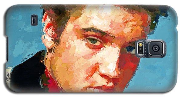 Elvis Portrait 3 Galaxy S5 Case
