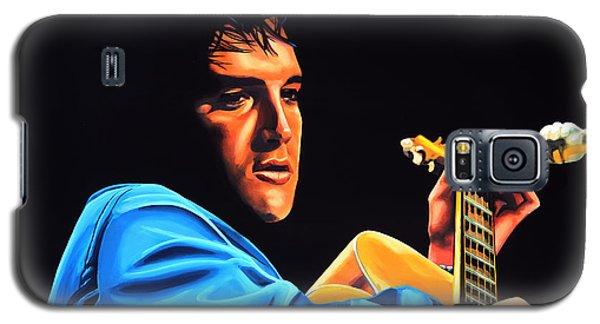 Elvis Presley 2 Painting Galaxy S5 Case by Paul Meijering