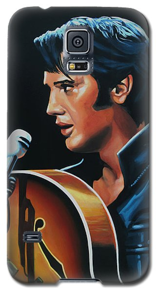 Elvis Presley 3 Painting Galaxy S5 Case