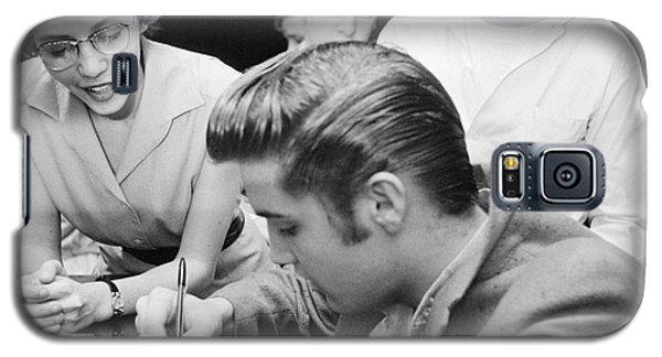Elvis Presley Meeting Fans 1956 Galaxy S5 Case