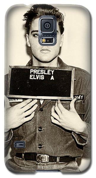 Elvis Presley - Mugshot Galaxy S5 Case