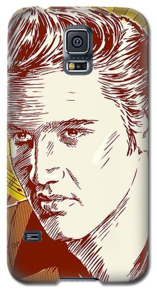 Elvis Presley Pop Art Galaxy S5 Case