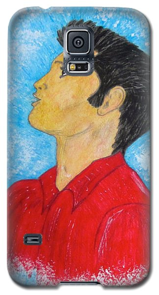 Elvis Presley Singing Galaxy S5 Case by Kathy Marrs Chandler