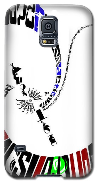 Elvis With Words Galaxy S5 Case