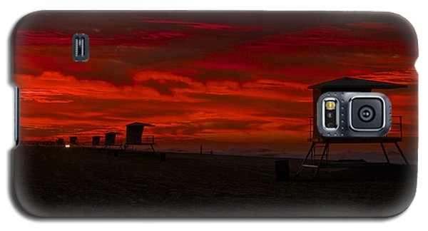 Galaxy S5 Case featuring the photograph Embers Of Dawn by Duncan Selby
