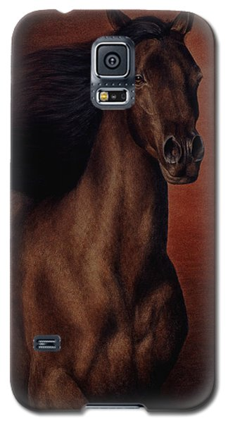 Galaxy S5 Case featuring the painting Embers by Pat Erickson