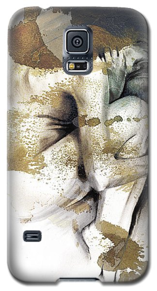 Embryonic IIi With Texture Galaxy S5 Case by Paul Davenport