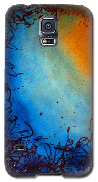 Galaxy S5 Case featuring the painting Embryonic Journey by Stuart Engel