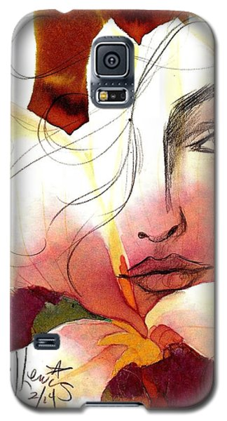 Emely Galaxy S5 Case by P J Lewis