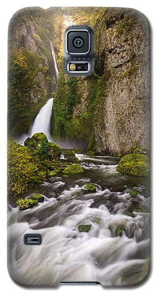 Emerald And Gold Galaxy S5 Case