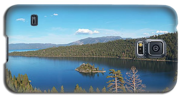 Emerald Bay Lake Tahoe Panorama Galaxy S5 Case by Paul Topp