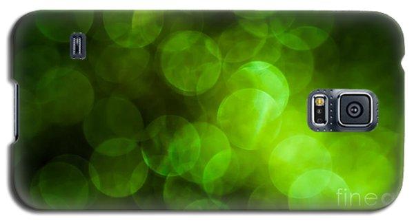 Emerald Bokeh Galaxy S5 Case