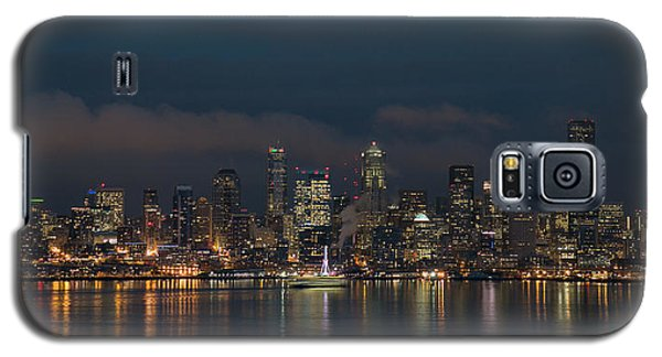 Emerald City At Night Galaxy S5 Case