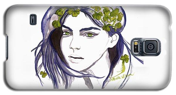 Emerald Eyes Galaxy S5 Case