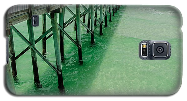 Galaxy S5 Case featuring the photograph Emerald Green Tide  by Susan  McMenamin