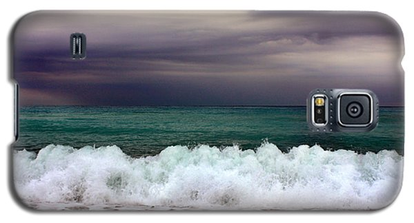 Galaxy S5 Case featuring the photograph Emerald Sea by Martina  Rathgens