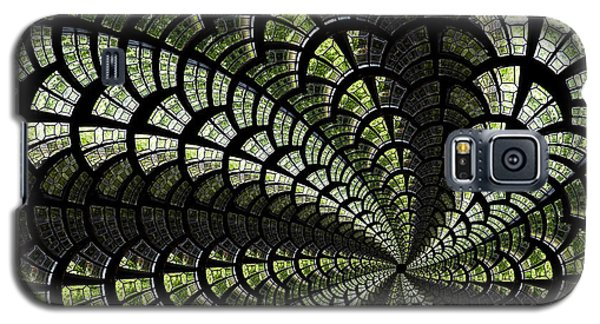Galaxy S5 Case featuring the photograph Emerald Whirl. by Clare Bambers
