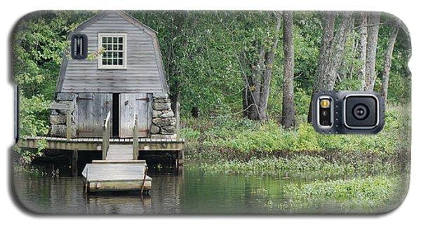 Emerson Boathouse Concord Massachusetts Galaxy S5 Case