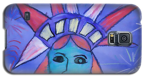 Emma's Lady Liberty Galaxy S5 Case by Alice Gipson