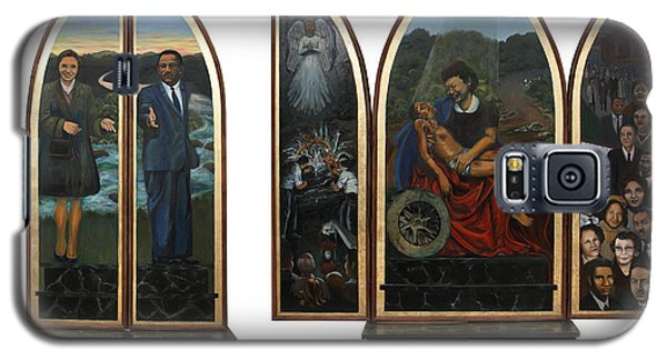 Emmett Till Memorial Triptych With The Outside And The Inside Galaxy S5 Case