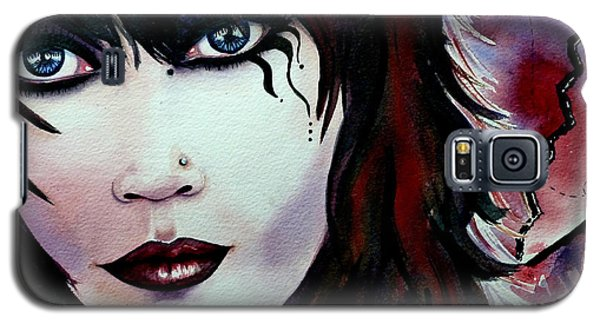 Emo Girl Galaxy S5 Case