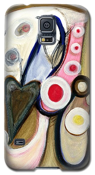 Galaxy S5 Case featuring the painting Emotions by Stephen Lucas