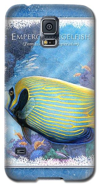 Emperor Angelfish Galaxy S5 Case