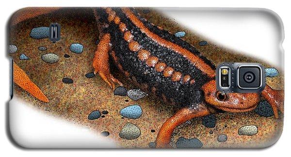 Emperor Newt Galaxy S5 Case by Roger Hall