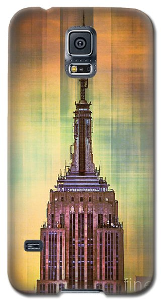 Empire State Building 3 Galaxy S5 Case by Az Jackson