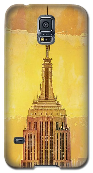 Empire State Building 4 Galaxy S5 Case by Az Jackson