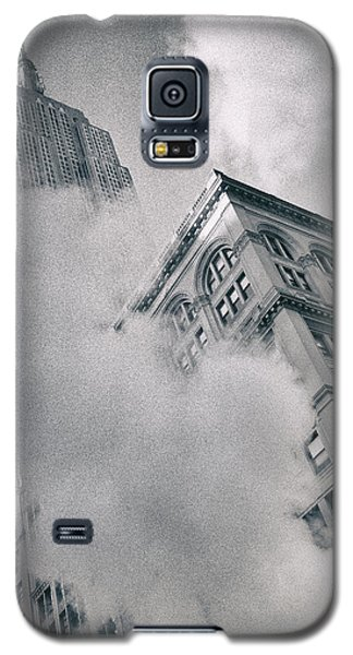 Empire State Building And Steam Galaxy S5 Case