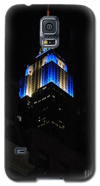 Empire State Building At Night Galaxy S5 Case