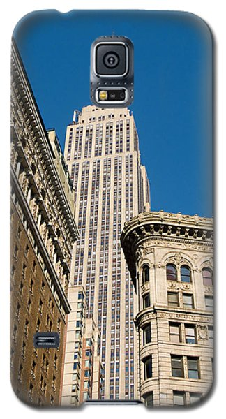 Galaxy S5 Case featuring the photograph Empire State Building by Michael Dorn
