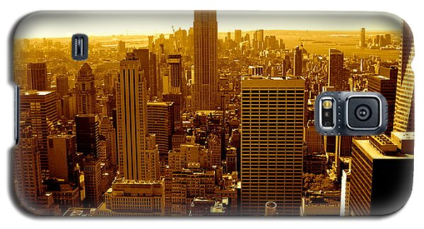 Manhattan And Empire State Building Galaxy S5 Case