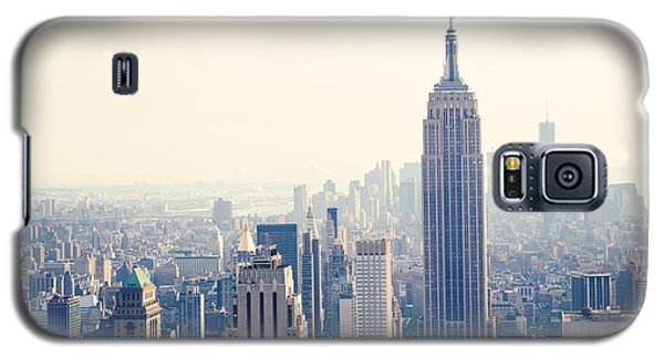 Empire State Building Nyc Galaxy S5 Case by Kim Fearheiley