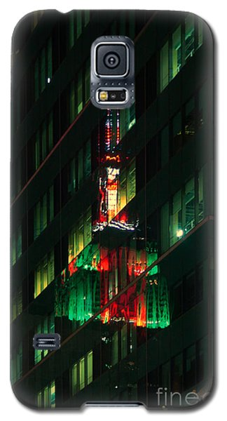 Empire State Building Reflection Galaxy S5 Case