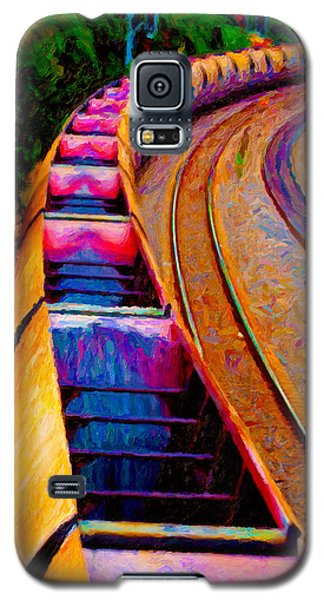 Empty Coal Hoppers Galaxy S5 Case by Chuck Mountain