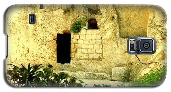 Empty Tomb Of Jesus Galaxy S5 Case by Lou Ann Bagnall