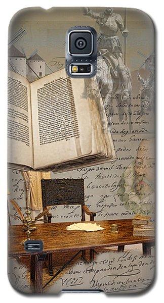 En Un Lugar De La Mancha... Galaxy S5 Case by Angel Jesus De la Fuente
