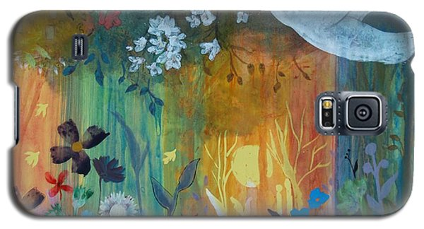 Galaxy S5 Case featuring the painting Encantador by Robin Maria Pedrero