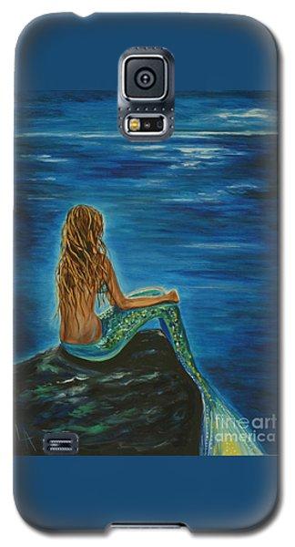 Enchanted Mermaid Beauty Galaxy S5 Case by Leslie Allen