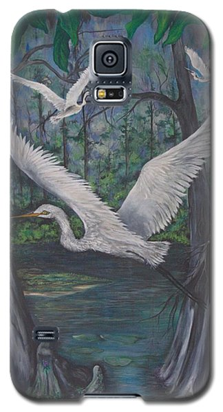 Enchanted Swamp Galaxy S5 Case