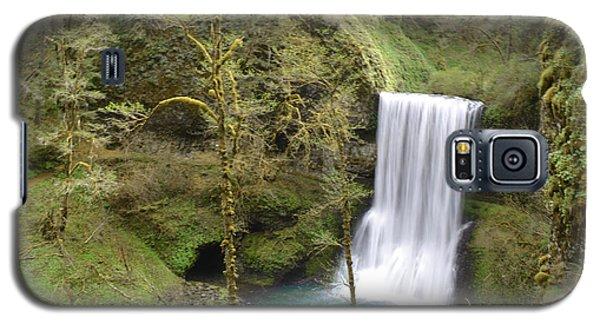 Enchanted Wilderness Waterfall Galaxy S5 Case by Andrea Hazel Ihlefeld