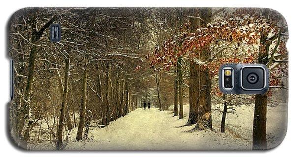 Enchanting Dutch Winter Landscape Galaxy S5 Case