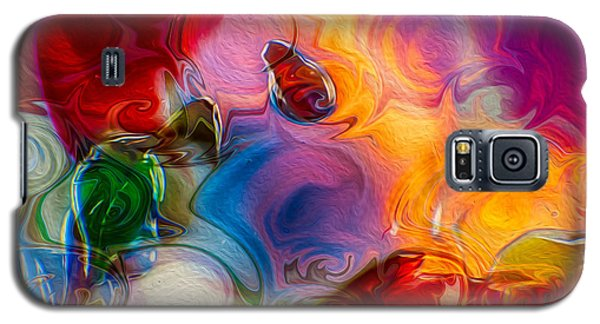Enchanting Flames Galaxy S5 Case
