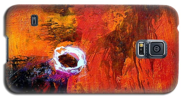 Galaxy S5 Case featuring the painting Encounter by Jim Whalen