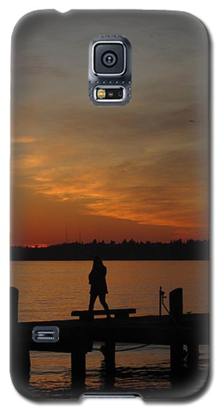 End Of A Day Galaxy S5 Case