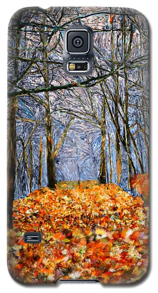 End Of Autumn Galaxy S5 Case
