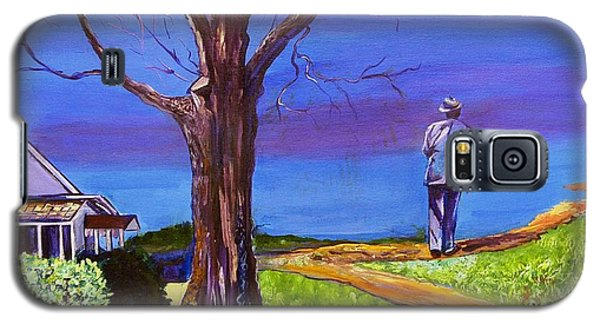 End Of Day Highway 98 Galaxy S5 Case by Ecinja Art Works