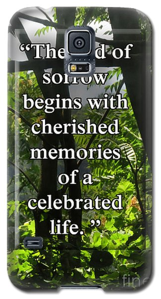 End Of Sorrow Galaxy S5 Case